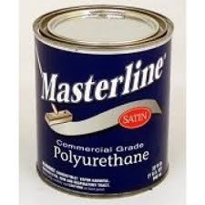 masterline commercial grade based polyurethane wood floor finish