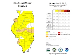Illinois On A Map by Illinois State Climatologist Office Illinois State Water Survey