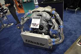 subaru turbo kit sema 2014 greddy turbo kits switch to garrett turbos revved