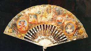 decorative fans fans in 18th century europe the fan circle international