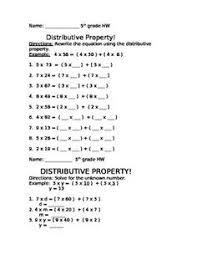 addition properties distributive thirdgradetroop com
