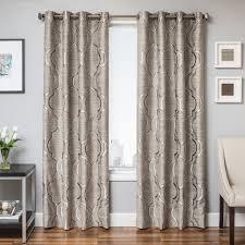 trenton grommet top curtain panel overstock shopping great