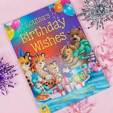 birthday wish book personalised story book birthday wishes gettingpersonal co uk