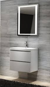 Bathroom Vanity Basins by Linear 600mm Wall Hung Vanity Basin Unit White