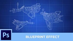 create blueprints how to create a blueprint effect photoshop tutorial youtube
