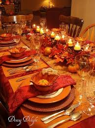 fall placesettings beautiful thanksgiving tablescape place