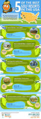 top golf courses in the u s infographic resortrentals