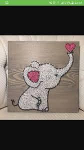 10 ideias de quadros feitos com cordas string art children s