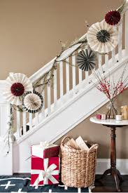 Banister Decorations For Christmas Christmas Banister Decorations U2013 Decoration Image Idea