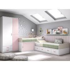 chambre enfants chambre enfant gain de place compact glicerio petit espace meubles