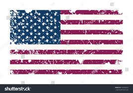 Usa Flag Vector Grungy Usa Flag Vector Illustration Stock Vector 142078615