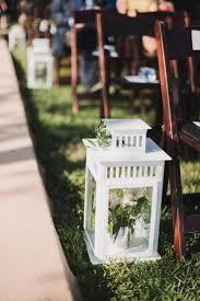 elegant backyard wedding ceremony aisle decor the majestic