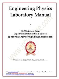 jntu b tech 1st year physics lab manual all experiments pdf