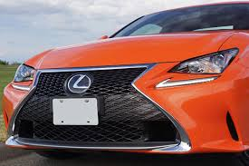lexus sport orange 2016 lexus rc 300 awd f sport road test review carcostcanada