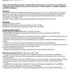 Mechanical Resume Format Pdf Resume Format For Freshers Mechanical Engineers Pdf Free Download