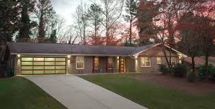 ranch remodel exterior before after ranch house remodel atlanta home improvement