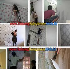 wallpaper dinding murah cikarang tukang pasang wallpaper di bekasi jasa tukang bangunan 2018