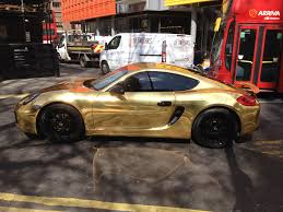 porsche wrapped ultimate bling gold foil wrapped porsche in central london imgur
