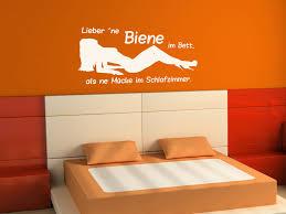 Schlafzimmer Wandtattoo Lieber Ne Biene Im Bett Wandtattoo Wandaufkleber Günstig By