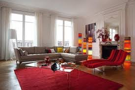 modern living room in brown and red cheap red and black area rugs
