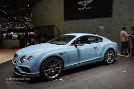 bentley coupe blue world debut for 2015 bentley continental gt at the geneva motor