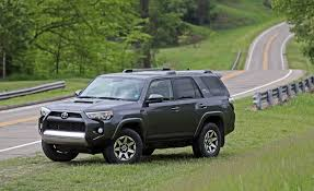 2017 toyota 4runner limited 2017 toyota 4runner in depth model review car and driver