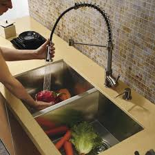 faucet for kitchen delightful commercial kitchen faucets with sprayer best sink