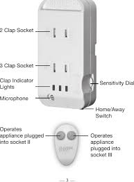 how to install clap on lights clapperplus clapper plus with remote control user manual gmp ems limited