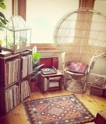 Vintage Apartment Decorating Ideas Vintage Furniture Peacock Chair Boho Decor Interior Design