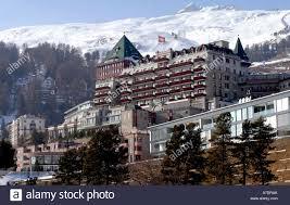 badrutt s palace hotel in st moritz schweiz stock photo royalty