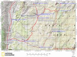 Surprise Arizona Map by White Pocket Paria Plateau Vermilion Cliffs National Monument