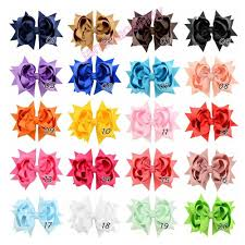 the ribbon boutique wholesale 4 5 grosgrain ribbon boutique layer hair bows for