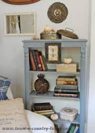 Annie Sloan Painted Bookcase Annie Sloan Chalk Paint Archives Town U0026 Country Living