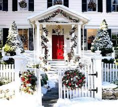 outside home christmas decorations ideas outside house holidayrewards co