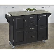 create a cart kitchen island home styles create a cart kitchen island with concrete top
