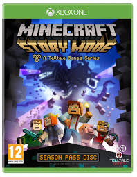 minecraft story mode a telltale game series season disc xbox