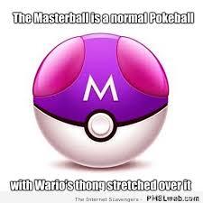 Thong Meme - masterball and wario s thong meme pmslweb