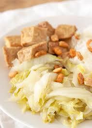 cuisiner le tempeh tempeh mariné et poêlée de chou chinois clea cuisine