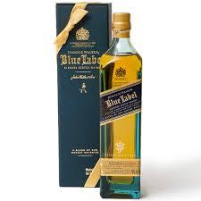 johnnie walker blue label blended scotch whisky 200ml