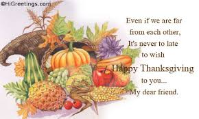 send ecards family friends happy thanksgiving friend