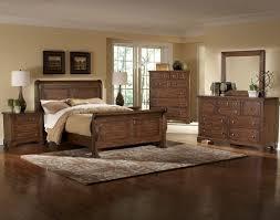Oak Bedroom Furniture Rustic Oak Bedroom Furniture Sets In A Red Walled Room Rustic