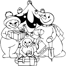 snowman family coloring pages coloring pages