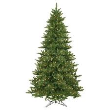 9ft pre lit artificial tree chartreuse green lights