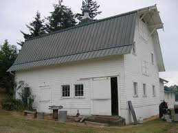 Hip Roof Barn by Gambrel Historic Barns Of The San Juan Islands