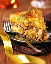 cuisiner pintade recette tourte de pintade au foie gras