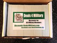 Free Military Business Cards Discounts U0026 Deals 4 Military Free Military Welcome Home Banner