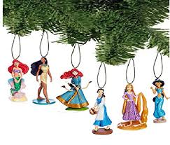 disney princess ornament set of 12 pc mouse ear exchange