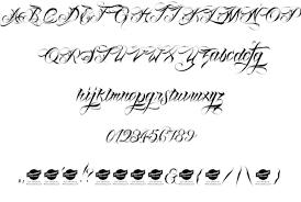 50 free tattoo font ideas