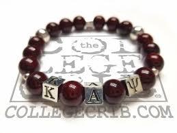 bead bracelet images Kappa alpha psi beaded bracelet the college crib jpg