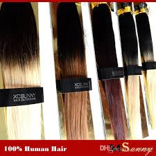 i tip hair extensions xcsunny 100 remy indian hair ombre i tip hair extensions 1820 1g